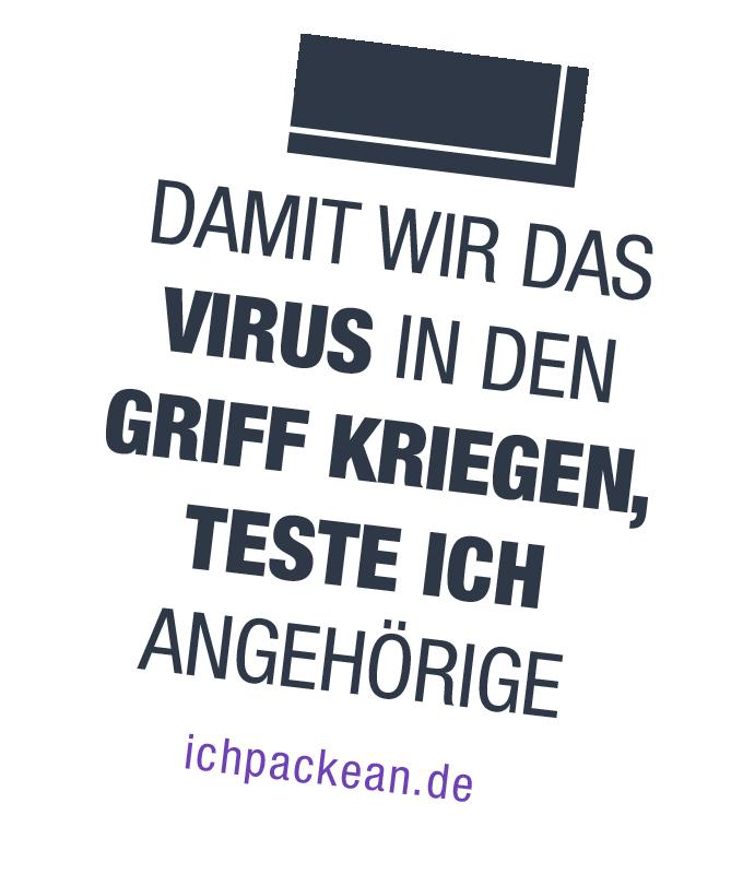 Pflege heißt: Damit wir das Virus in den Griff kriegen, teste ich Angehörige